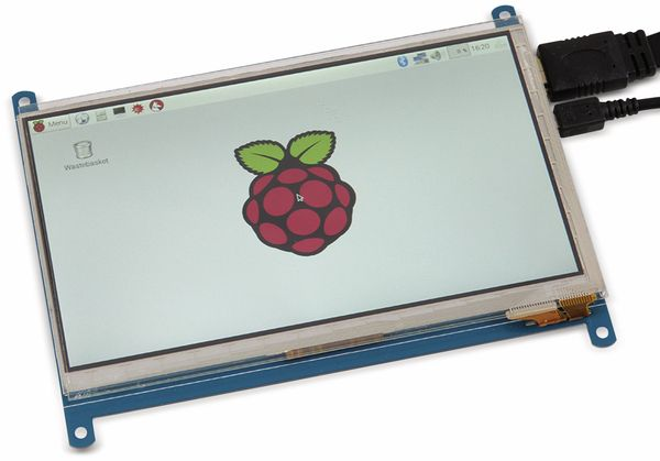 "JOY-IT Touch-LCD Display Modul 7"" (17,78 cm) für Raspberry Pi - Produktbild 1"
