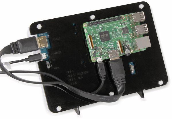 """JOY-IT Gehäuse für 7"""" Touch Display - Produktbild 2"""