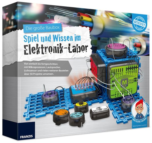 Lernpaket FRANZIS, Elektronik-Labor - Produktbild 1