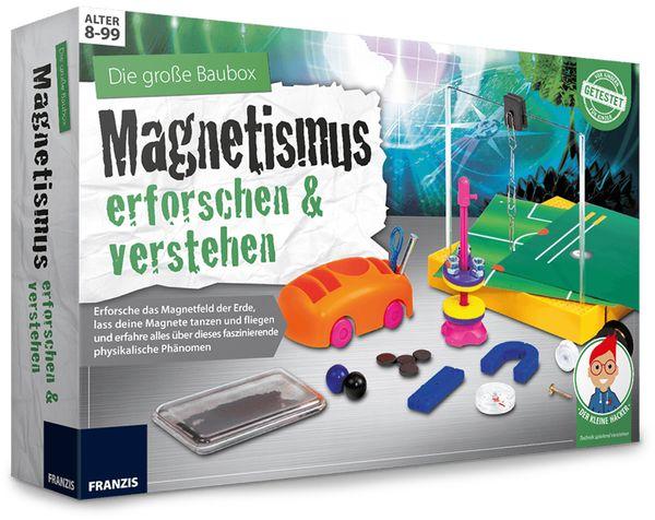 Lernpaket FRANZIS Der kleine Hacker, Magnetismus erforschen & verstehen - Produktbild 1