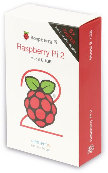 Raspberry Pi 2 Model B v1.2 - Produktbild 3
