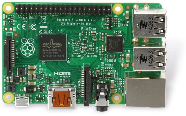 Raspberry Pi 2 Model B v1.2 - Produktbild 4