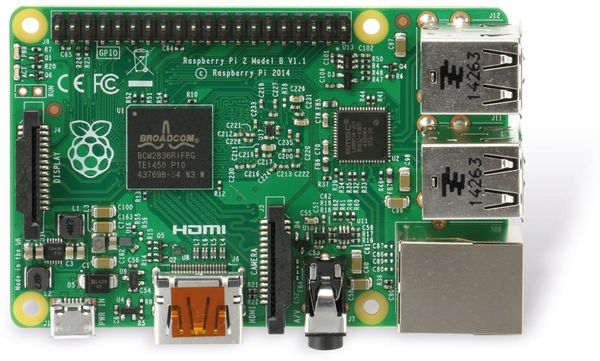 Raspberry Pi 2 Model B v1.2 - Produktbild 6