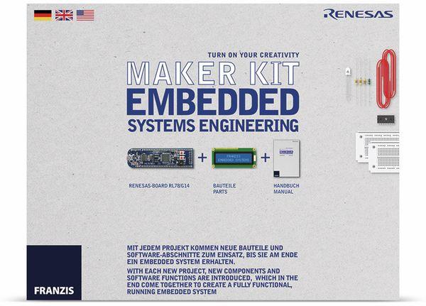 Lernpaket FRANZIS Maker Kit- Embedded Systems Engineering - Produktbild 1