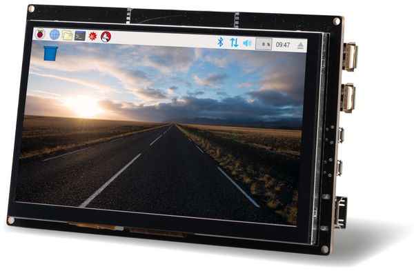 "LC-Display 7"" (17,8 cm), mit kapazitivem Touchscreen, HDMI - Produktbild 1"