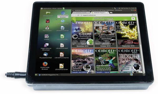 "ODROID-VU8C, 8""(20,32 cm ) Multi-Touch Display Shell Kit - Produktbild 1"