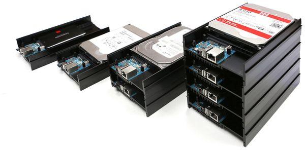 ODROID-HC2 Einplatinen Computer für NAS und Cluster Anwendungen - Produktbild 3