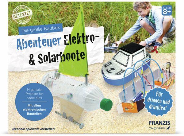 FRANZIS Die große Baubox - Abenteuer Elektro- und Solarboote