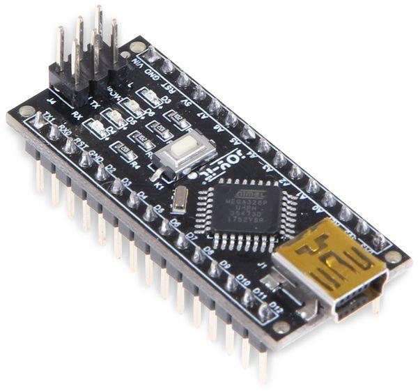 JOY-IT Arduino™ kompatibles Nano V3 Board mit ATmega328P-AU - Produktbild 1