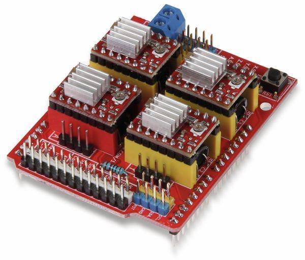 JOY-IT Controllerboard CNC mit 4x A4988 Motortreiber für Arduino Uno - Produktbild 2