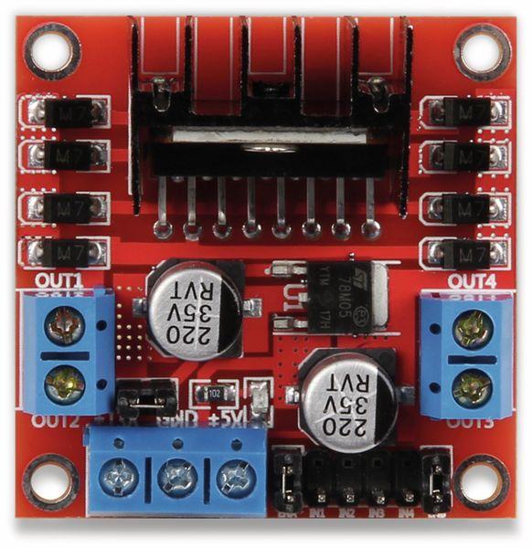 JOY-IT Motormodul (2/4Phasen, L298N) - Produktbild 2
