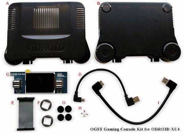 Gaming Konsole OGST Kit für ODROID XU4/XU4Q - Produktbild 3