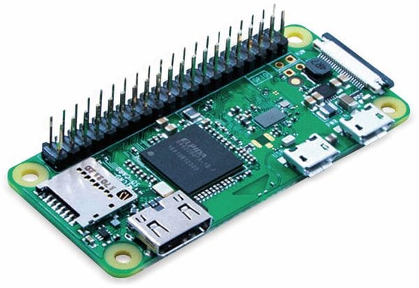 Raspberry Pi Zero WH (mit bestücktem Header)
