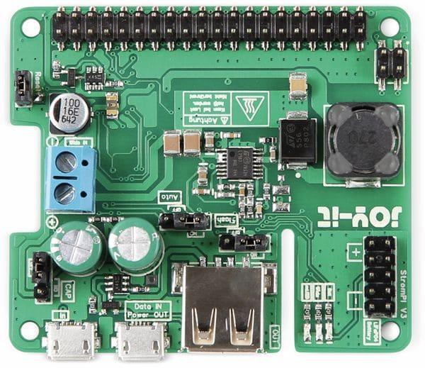 JOY-IT Strom-Pi3 Erweiterungsplatine für Raspberry Pi