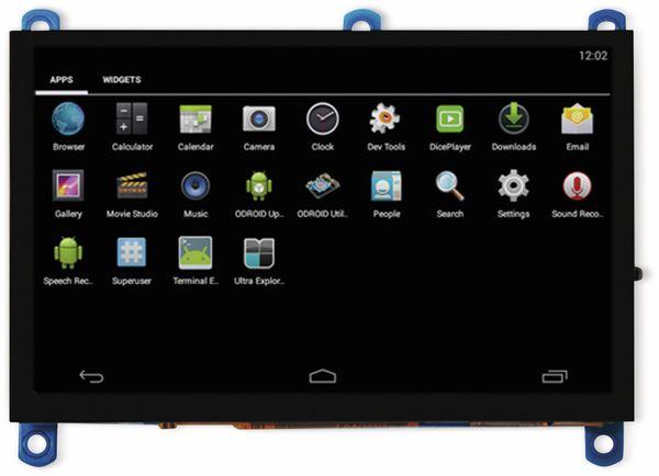 """12,7 cm (5"""") Multitouch TFT-Display mit HDMI und Audio ODROID-VU5A"""
