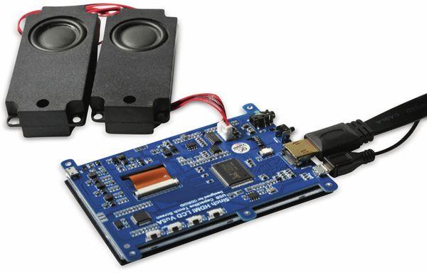 """12,7 cm (5"""") Multitouch TFT-Display mit HDMI und Audio ODROID-VU5A - Produktbild 6"""