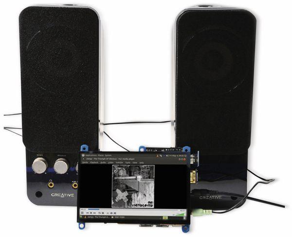 """12,7 cm (5"""") Multitouch TFT-Display mit HDMI und Audio ODROID-VU5A - Produktbild 7"""
