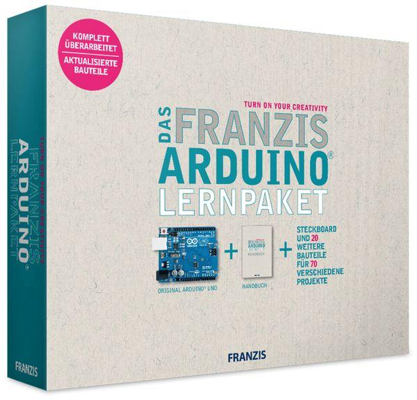 FRANZIS Lernpaket Arduino, Version 2018 - Produktbild 1