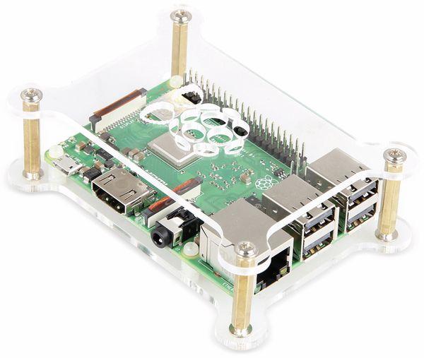 Raspberry Pi MakerCase 2 x Acryl Platten mit Kupfer Abstandhaltern