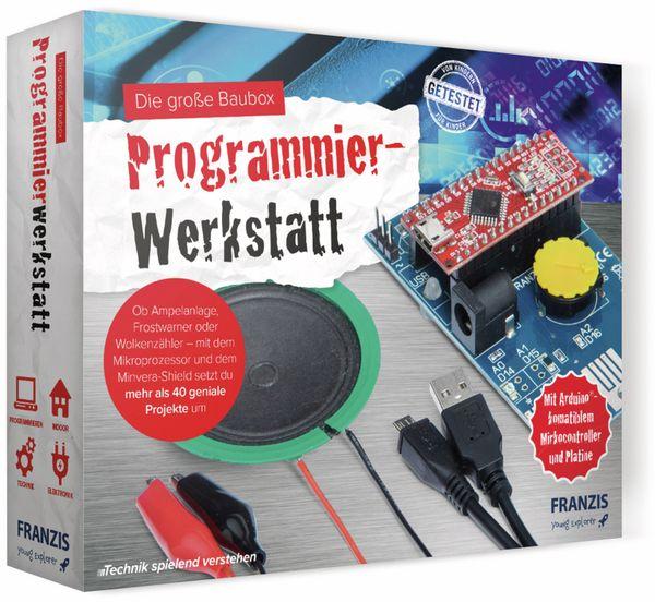 FRANZIS Die große Baubox Programmierwerkstatt - Produktbild 3