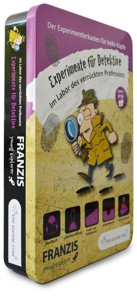 Experimente für Detektive - Im Labor des verrückten Professors, FRANZIS