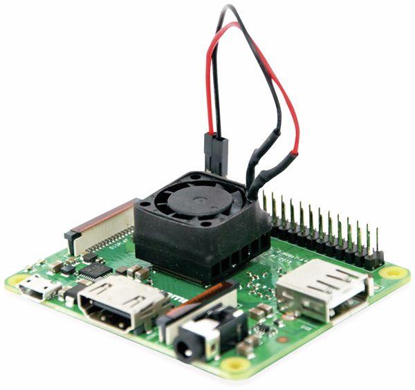 Raspberry PI 3A+mit aktivem Kühlkörper