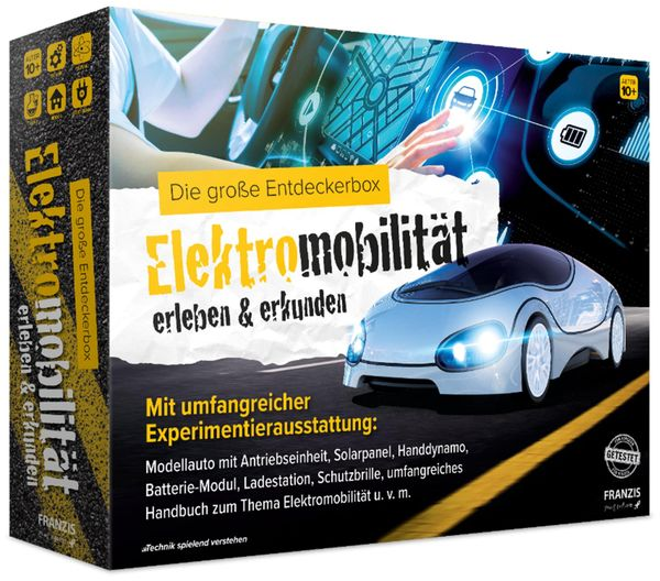 Die große Entdeckerbox, FRANZIS, Elektromobilität erleben & erkunden
