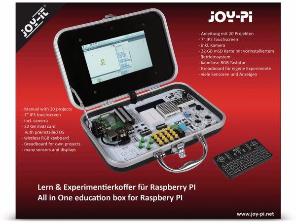 JOY-IT, JoyPi Lern und Experimentierkoffer für RPi Zero, 2B, 3B, 3B+, 4B - Produktbild 2