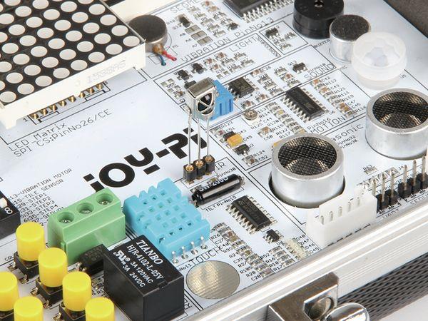JOY-IT, JoyPi Lern und Experimentierkoffer für RPi Zero, 2B, 3B, 3B+, 4B - Produktbild 5