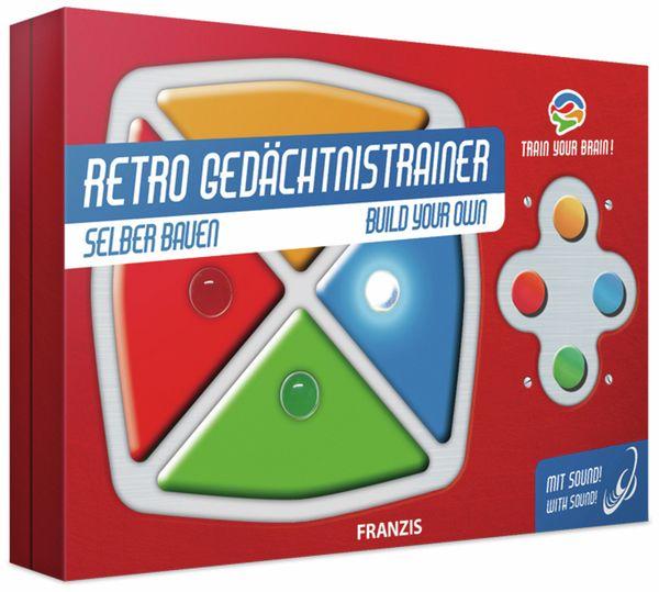 FRANZIS Retro Gedächtnistrainer selber bauen - Produktbild 1