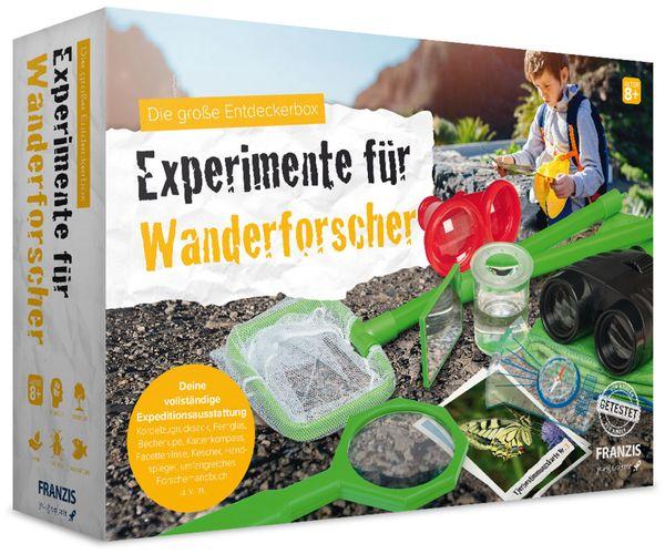 Die große Entdeckerbox, Experimente für Wanderforscher, FRANZIS - Produktbild 1