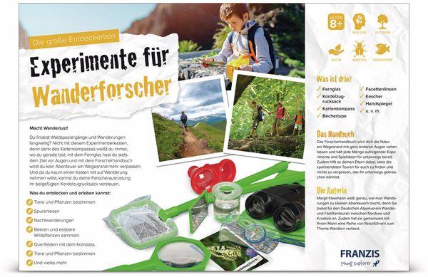 Die große Entdeckerbox, Experimente für Wanderforscher, FRANZIS - Produktbild 3