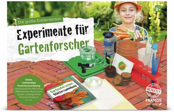 Die große Entdeckerbox, Experimente für Gartenforscher, FRANZIS - Produktbild 2