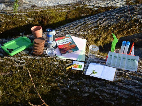 Die große Entdeckerbox, Experimente für Gartenforscher, FRANZIS - Produktbild 3