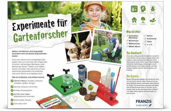 Die große Entdeckerbox, Experimente für Gartenforscher, FRANZIS - Produktbild 7