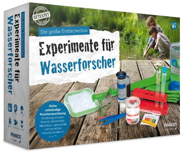 Die große Entdeckerbox, Experimente für Wasserforscher, FRANZIS