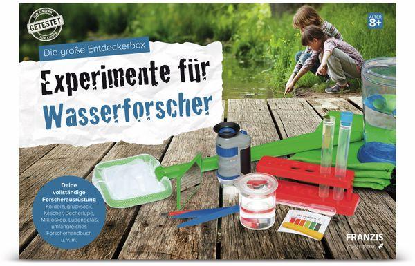 Die große Entdeckerbox, Experimente für Wasserforscher, FRANZIS - Produktbild 2