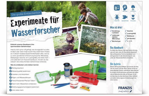 Die große Entdeckerbox, Experimente für Wasserforscher, FRANZIS - Produktbild 3