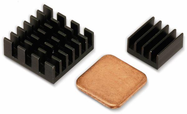 Raspberry Pi Kühlkörper Set, Aluminium-Kupfer, 3-teilig