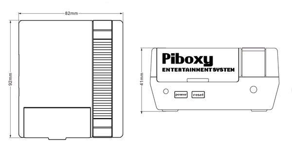 """NES Gehäuse""""Piboxy"""" mit Controller und FB für RPi - Produktbild 5"""