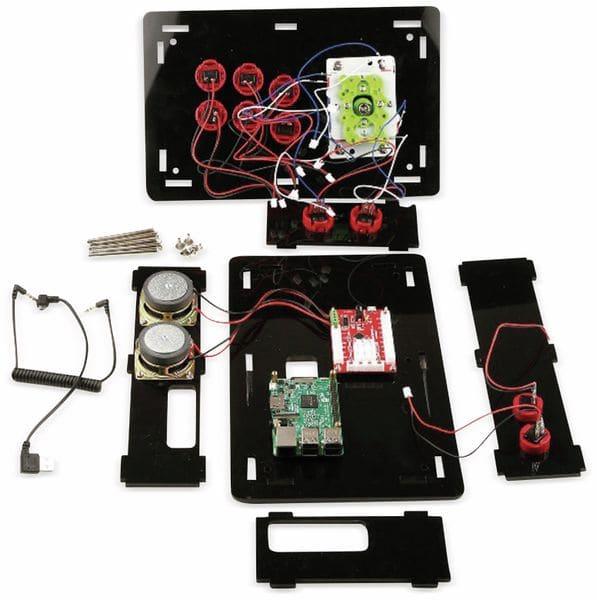 Raspberry Pi Retro Game Arcade DIY Kit - Produktbild 3
