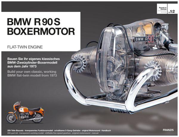 FRANZIS BMW R 90 S Boxermotor, Maßstab 1:2 - Produktbild 1