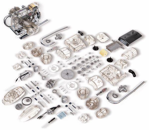 FRANZIS BMW R 90 S Boxermotor, Maßstab 1:2 - Produktbild 4