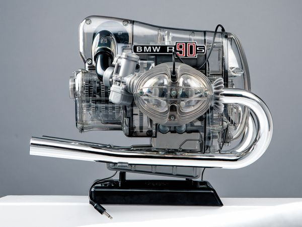 FRANZIS BMW R 90 S Boxermotor, Maßstab 1:2 - Produktbild 6