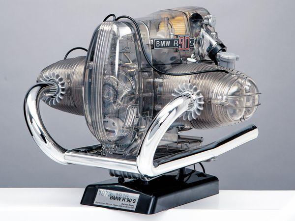 FRANZIS BMW R 90 S Boxermotor, Maßstab 1:2 - Produktbild 9