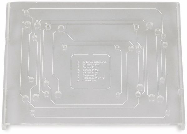 JOY-IT Din Rail Halterung für Einplatinencomputer, VESA 75