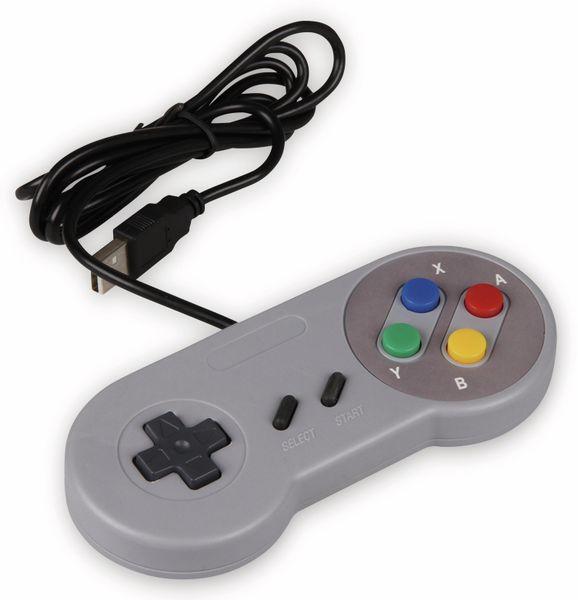 JOY-IT USB Gamepad im SNES Design