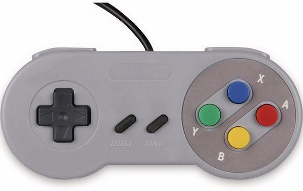 JOY-IT USB Gamepad im SNES Design - Produktbild 2