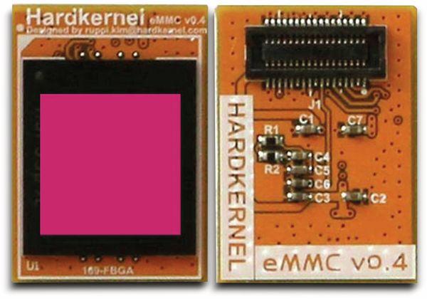 ODROID-N2 eMMC Modul, 16GB, mit Linux