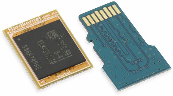 ODROID-N2 eMMC 5.0 Modul, 16 GB, mit Android - Produktbild 2